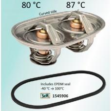 Термостат 80/87 °C охлаждающей жидкости